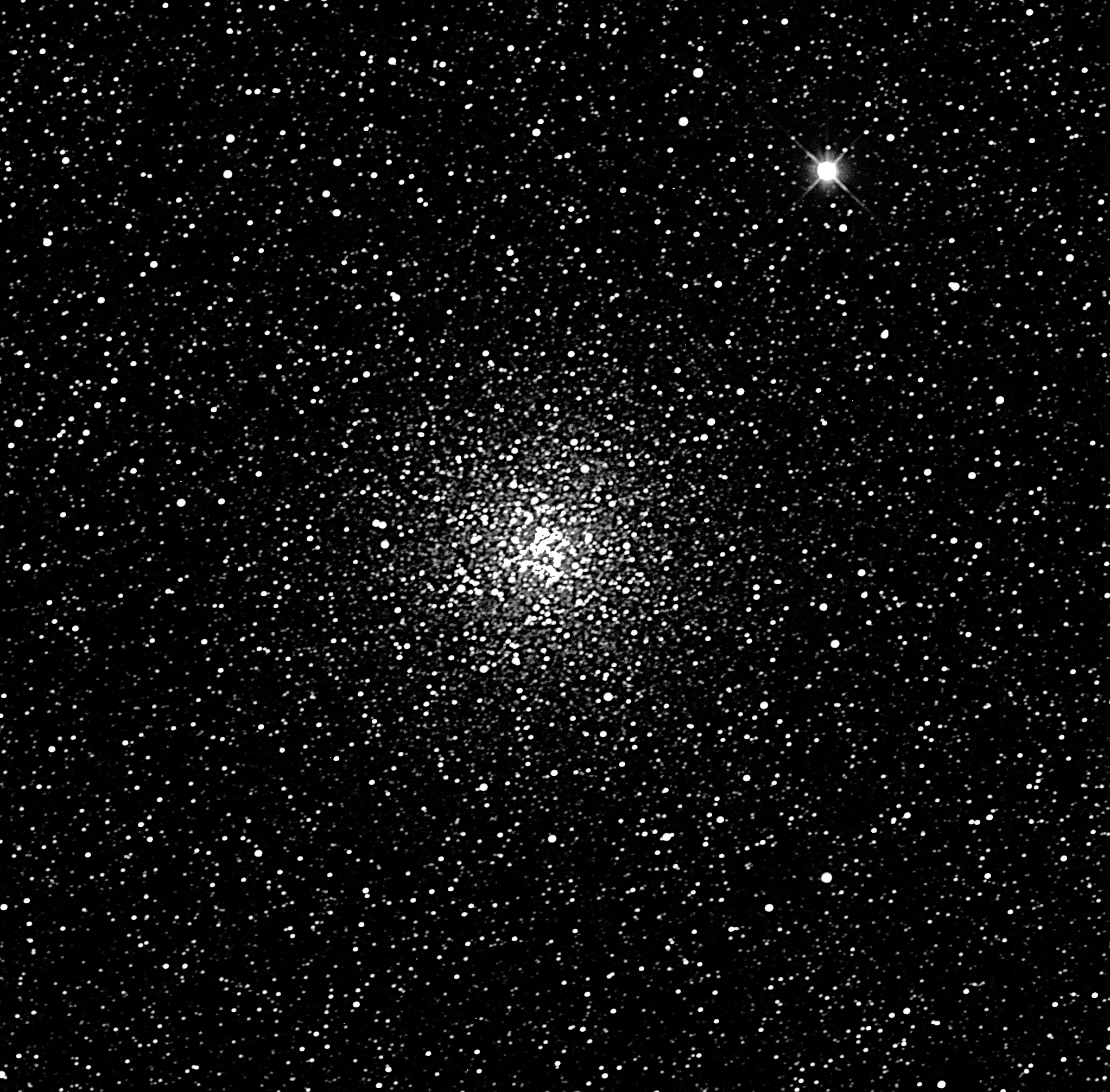 20190903 M69 Globular cluster R filter 30s 2m Faaulkes South DPlr
